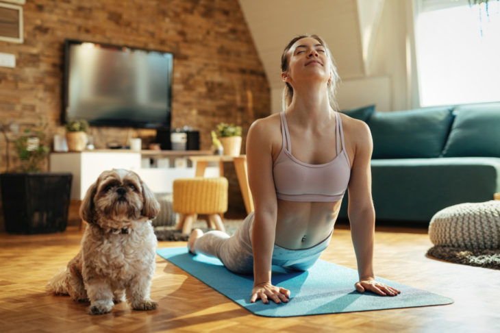 Panorama shows the health benefits of yoga